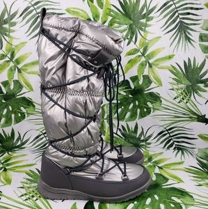 - Arctic Plunge KEZRY silver winter boots 11